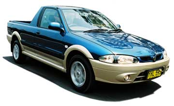 2003 Proton Jumbuck GLSi utility Car Review