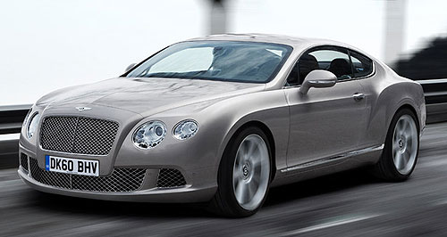 Bentley  Broadened horizons: The 2010 Bentley Continental 'GT Design Series China' was engineered and designed exclusively for the Chinese market.
