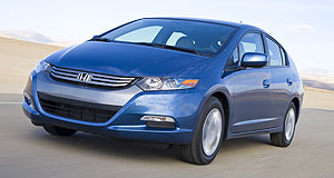 Honda 2010 Insight Out of sight: Honda Insight's sales success in Japan may delay its Australian introduction.