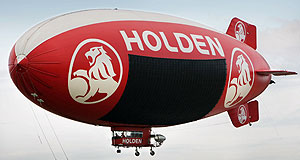 "Holden  No problem: Holden says its airship abides by ""everything that is legal""."