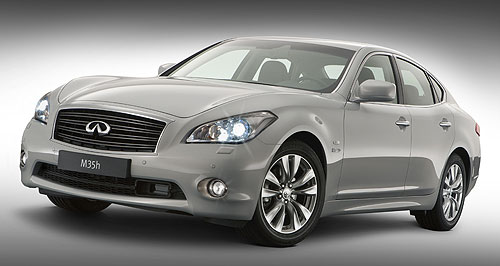Infiniti  Change of scenery: Nissan's luxury division Infiniti will be headquartered in Hong Kong from April next year.