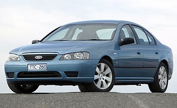 2005 Ford Falcon XR6 BF specifications, information, data, photos ...
