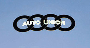 Volkswagen  Ring in the changes: The four companies that joined to form Auto Union in the 1930s are represented by the rings of its original badge.