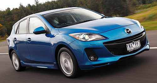 Mazda Mazda3 sedan/hatch rangeHeadline: The mid-range Mazda3 SP20 SkyActiv features class-leading petrol fuel economy of 6.1 litres per 100km and a lower-than-expected $27,990 price tag.