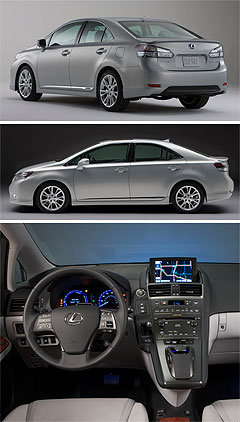 Lexus2011 CT center image