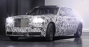 Rolls-Royce 2018 Phantom Out with the old: Rolls-Royce's next Phantom will be underpinned by a new all-aluminium architecture that it will share with the Cullinan SUV.