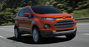 Ford 2012 EcoSport Bound for Oz: The Ford EcoSport will arrive in Australia in 2013.