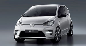 Volkswagen 2013 Up! Hot Up: On the agenda for future expansion of the Volkswagen Up range is the sporty GT variant.