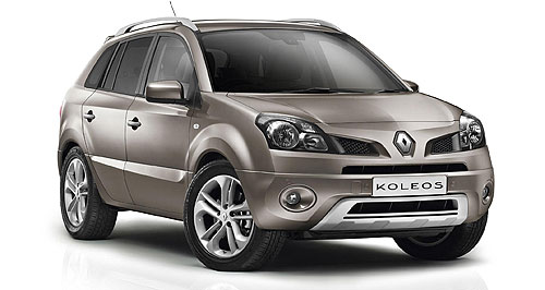 Renault Koleos Added value: Renault's Koleos SUV gets a bunch of extra electronics, including sat-nav and Bluetooth.