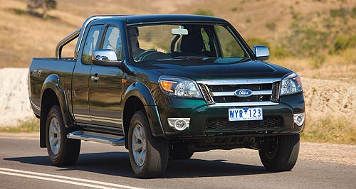 Ford  Next: Ford Australia is set to develop a new SUV off the next-generation Ranger that replaces the current model (pictured) next year.