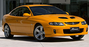 Holden Monaro End of an era: The final current-generation Monaro is personally signed by its designer, Mike Simcoe.