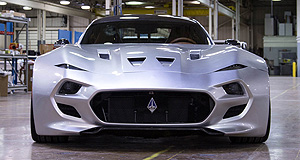 VLF Automotive 2016 The Force 1 Forced smile: Danish designer Henrik Fisker has turned his hand to gas guzzlers and the VLF Automotive Force 1, after a tenure penning zero-emissions electric cars.