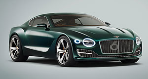Bentley 2018 EXP 10 Speed 6 Ticking over: Bentley might have shelved its EXP 10 concept if it were not for a significant response from fans the world over, and a production model is still a possibility.