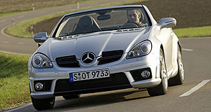 Mercedes-Benz 2008 SLK-class RangeNose job: Upgraded SLK features a revised front end.
