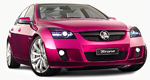 Holden Torana Not wasted: The Torana concept car could spawn a GM product.