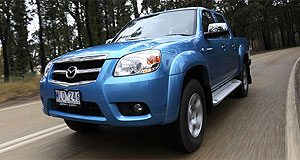 Mazda BT-50 Tray chic: There are now 29 versions of the BT-50 available.