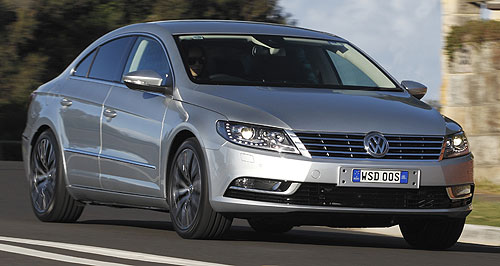 Volkswagen CC Smooth operator: Volkswagen has dropped the Passat name from its updated CC but added extra equipment and given it a fresh look.