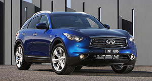 Infiniti  Oil burner: Infiniti will drop the diesel version of its QX70 SUV later this year, but it is likely to be replaced by a new diesel engine.