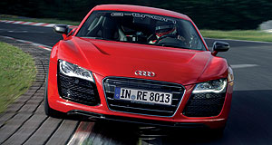 Audi R8 e-tronQuiet achiever: Markus Winkelhock shows his record-breaking form in the all-electric Audi R8 e-tron.