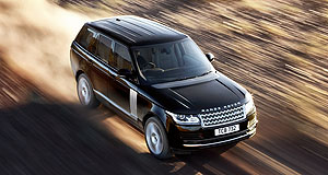 Land Rover Range Rover Not so lardy: The new entry-level $168,900 Range Rover HSE weighs 420kg less than its predecessor, thanks to all-aluminium construction.