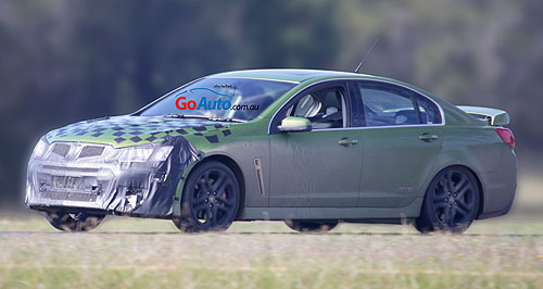Holden 2016 Commodore Power plus: Holden's final locally developed Commodore, the VF Series II, is being put through its paces ahead of showroom roll-out later this year.