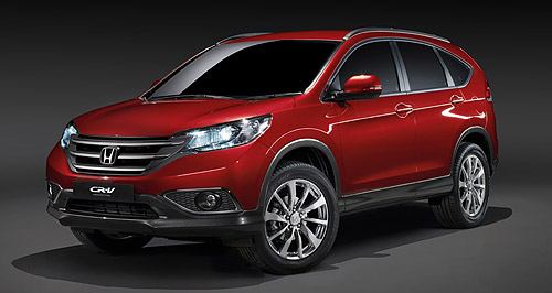 Honda 2015 Small SUV Small possibilities: The new Honda CR-V will hit Australian showrooms this year, but the company could introduce an even more compact SUV further down the track.