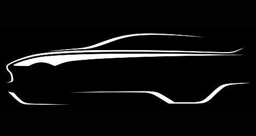 Aston Martin 2019 DBX Sketchy details: Aston Martin released a profile sketch of what the DBX crossover could look like, leaving most of the car's details to the imagination.