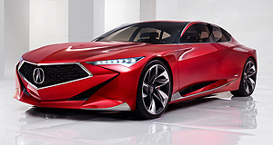 Acura 2017 Precision Accurate prediction: Design elements of the sharp-looking Precision concept will show up on future Acura production models.