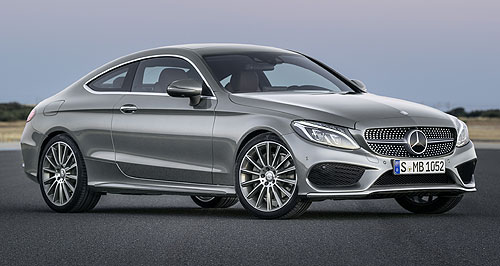 Mercedes-Benz C-Class CoupeFly the coupe: The opening price for the Mercedes-Benz C-Class coupe undercuts the equivalent base BMW 4 Series and Audi A5.