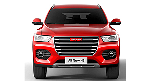 Haval 2018 H6 Hit for 6: The new-gen H6 follows the design of the HR-02 concept that Haval revealed at last year's Beijing motor show.