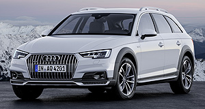 Audi 2016 A4 AllroadAll purpose: Audi's A4 Allroad returns in its second generation bringing more off-road ability and comfort features.