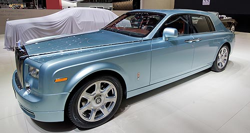 Rolls-Royce 2015 Phantom Plug-in: Electric 102EX Rolls-Royce boosts the venerable marques' environmental credentials.