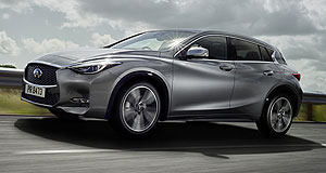 Infiniti  Infinite growth: The Q30 is one of five Infiniti models being released in Australia in 2016.