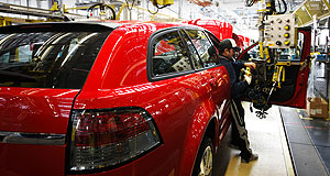 Holden  On the wagon: Holden's manufacturing future in Australia is expected to be confirmed within weeks.