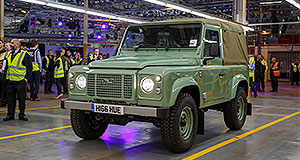 Land Rover Defender Land R-over: For nearly 70 years, the ephemeral Land Rover has served with the military, the royal family, industry, agriculture and off-road enthusiasts the world over, but it is time to take a bow.