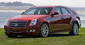 Cadillac 2009 CTS Sport wagonWagon trail: Cadillac CTS Sport Wagon is expected to come to Australia in 2009.