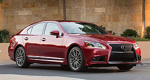 Lexus 2012 LS 600h F SportSure bet: The Lexus LS gets the F Sport treatment in a facelift to debut at the Melbourne Cup carnival in Melbourne.