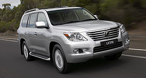 Lexus LX LX570 5-dr wagonHauler: Lexus says at least 60 per cent of LX570s sold will be the top-shelf Sports Luxury versions, and that only 20 per cent will head off-road.