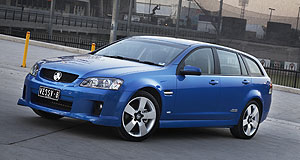VFACTS  Still number one: Sportwagon hlped Commodore remain on top last month.