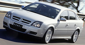 Holden Vectra On test: The new Vectra has been adapted to Australian conditions.