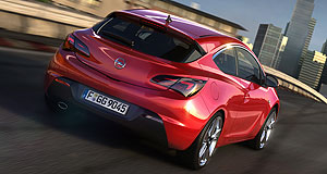 Opel 2012 Astra GTC coupeSlick: The GTC coupe could become the flagship of the local Astra line-up.