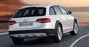 Audi 2012 A4 AllroadPumped-up kicks: The Audi A4 Allroad crossover bridges the gap between the A4 Avant and traditional SUVs.