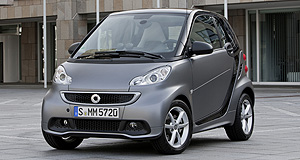 Smart  Tiny Tot: The Smart ForTwo was sold in Australia from 2003 to 2014.