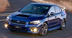 Subaru 2020 WRX T-WRX: Subaru's current WRX and STI range are among the most pollutant in the small car performance market, with up to 213 grams per kilometre emitted from the manual WRX sedan.