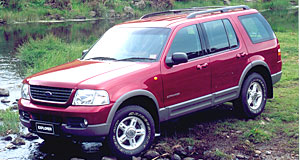 Ford Explorer rangeCar-like comfort: The Explorer's truck-like characteristics have been replaced by a level of comfort and refinement much closer to a car.