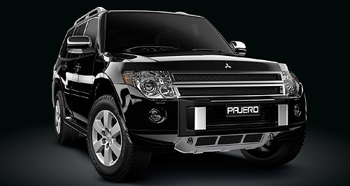 Mitsubishi Pajero RXBlinged: Pajero RX special adds a host of mainly exterior extra, but also offers additional interior chrome.