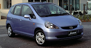 Honda Jazz Lights out: The first-generation Honda Jazz is being recalled over a headlight wiring problem.