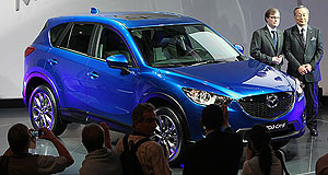 Frankfurt 2011 Sky High: Mazda's CX-5 compact SUV will be the brand's first car to feature the full suite of efficient SkyActiv technologies.