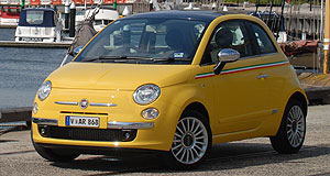Fiat 500 JTD LoungeFrugal: Fiat 500 1.3 JTD Lounge matches Toyota's Prius for fuel economy.