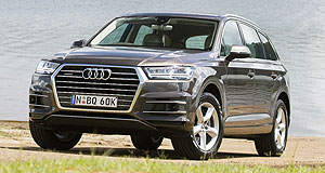Audi Q7 3.0 TDI 160kWQ and A: The new most affordable 160kW 3.0 TDI is expected to make up about 20-30 per cent of overall Q7 volume, according to Audi Australia.